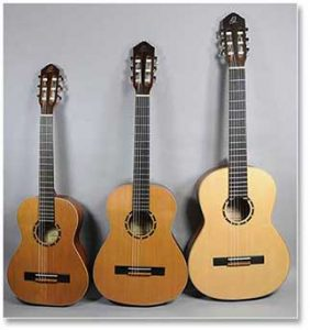 Ortega Classical Guitars