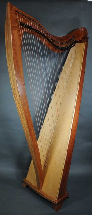 Dusty Strings FH36S Bubinga Harp
