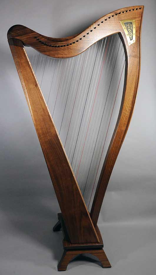 Dusty Strings FH34 Harp - Walnut