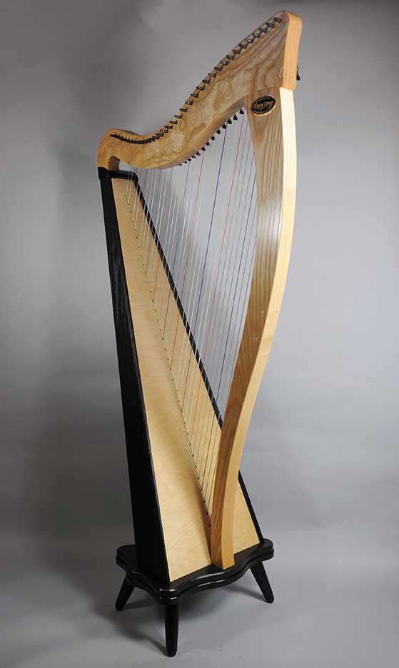 Dusty Strings Ravenna 34 Harp Spruce Tree Music