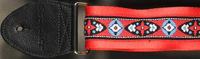 Souldier Guitar Strap: Compass - Red
