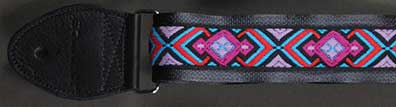 Souldier Guitar Strap: Diamante Black