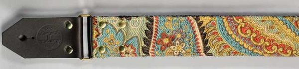 Hang Over Guitar Strap: Blue Psychedelic