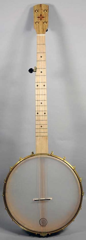 Pisgah Possum Banjo - Cherry, Short Scale