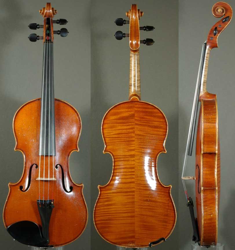 E. R. Schmidt Stradivarius Model Violin - c.1920