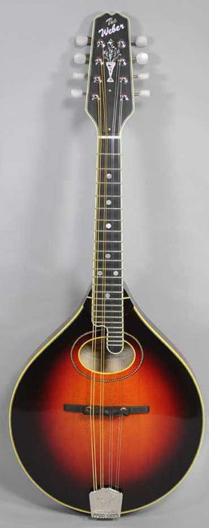 Weber Custom Vintage A Mandolin - Wide Nut, Custom Color