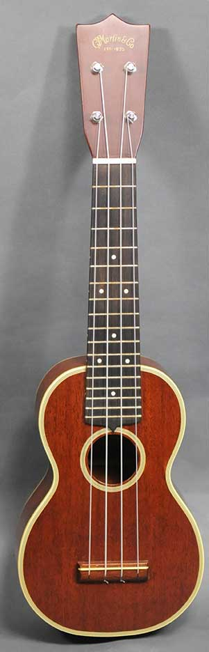 Martin Style 3 Soprano Ukulele - c.1960