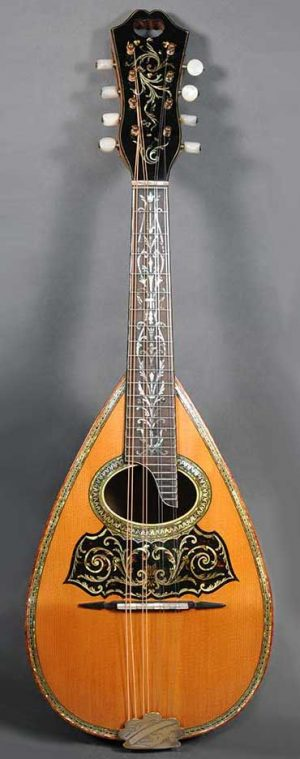 Vega Deluxe Neapolitan Style Mandolin - c.1910