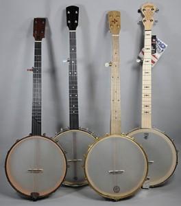 Banjos with 12-Inch Pots