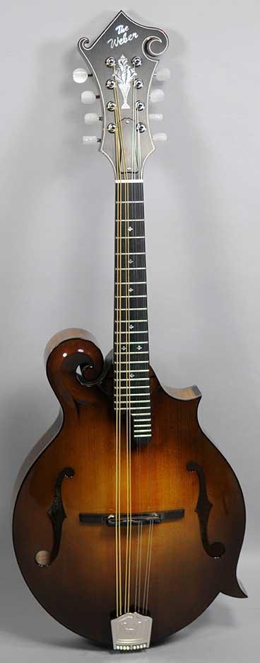 Weber Yellowstone F Mandolin - Custom Color