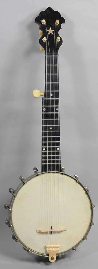 S. S. Stewart Little Wonder Piccolo Banjo - 1890s