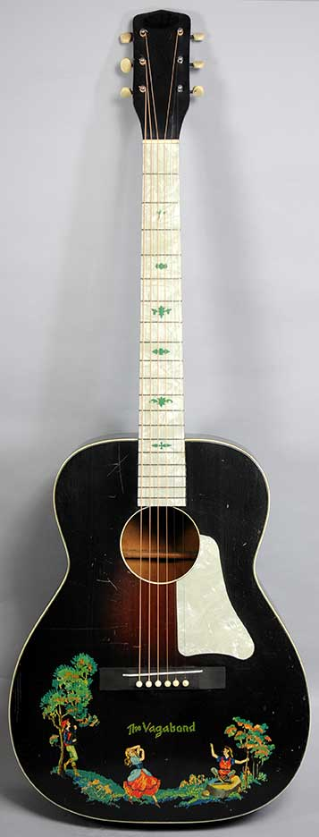 Harmony The Vagabond Guitar - 1930s