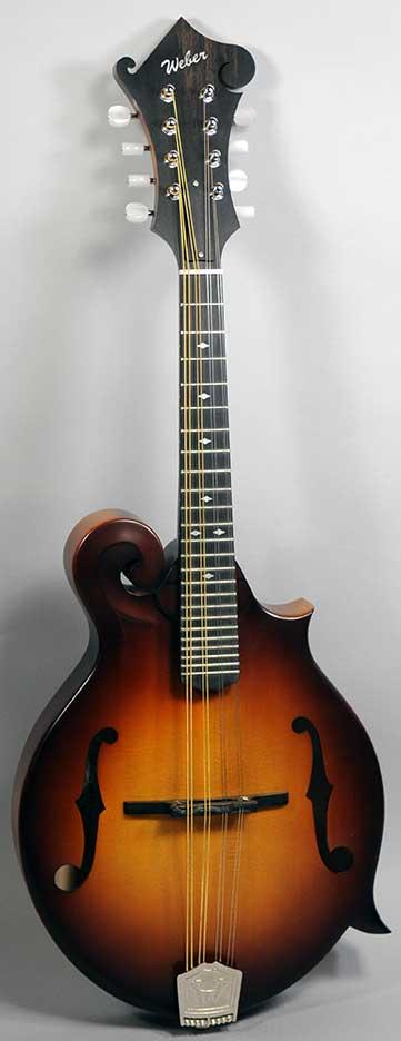 Weber Gallatin F Mandolin with Custom Color