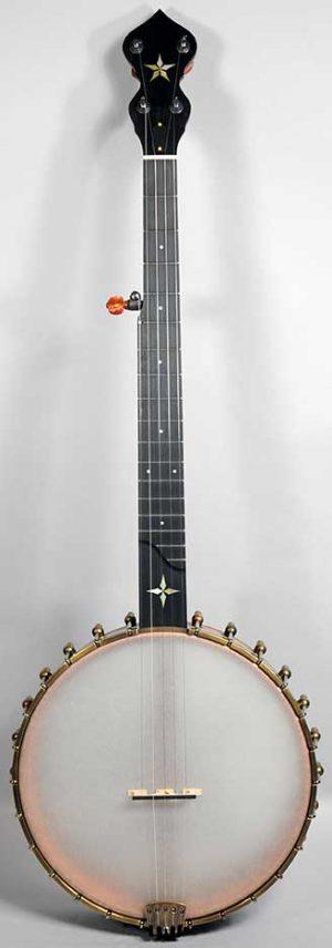 """Ome Wizard Banjo - Mahogany, 12"""" Pot"""