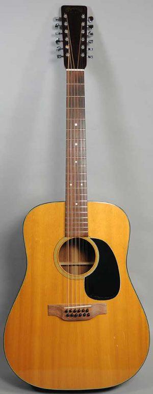 Martin D12-18 12-String Guitar - 1974