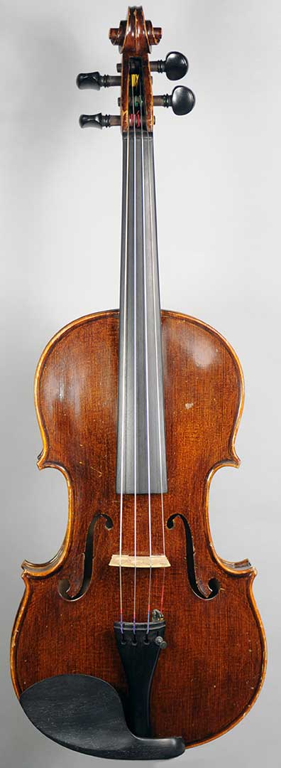 Unlabelled German 4/4 Violin - c.1930