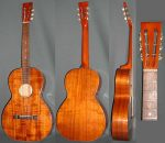 Unbranded Parlor Guitar - c.1925