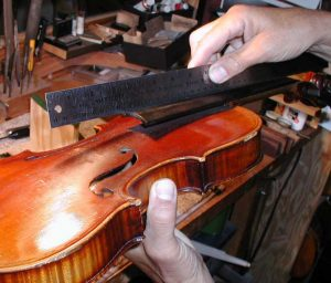 Setting Up Violins