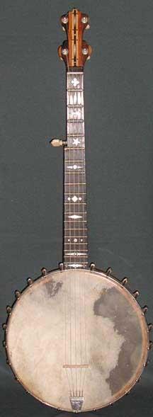 H. F. Wade Banjo - 1890s