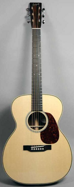 Bourgeois OM Vintage - European Spruce and Cocobolo