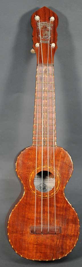 Jonah Kumalae Style 5 Soprano Ukulele - c.1920