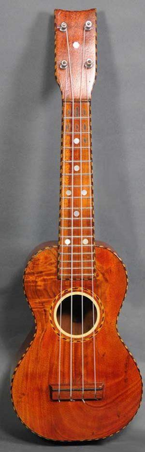 H. Weissenborn Style 3 Soprano Ukulele - c.1920