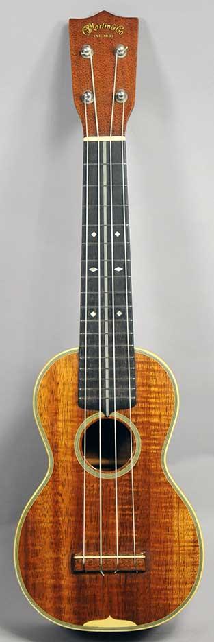 Martin Style 3K Soprano Ukulele - Late 1930s