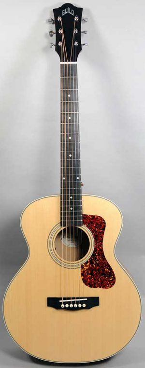 Guild Jumbo Junior E - Flamed Maple